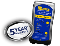 CC1206 CENTURY 12V 6A 9 STAGE BATTERY CHARGER 5 YEARS WARRANTY