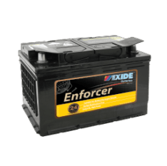 EXIDE EN66MF EXIDE ENFORCER DIN63, DIN65L, DIN66L BATTERY 24 MONTH WARRANTY FREE SHIPPING EXCEPT RURAL AREAS
