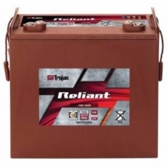 TROJAN AGM DEEP CYCLE BATTERY 12V 200AH TROJAN J185-AGM RELIANT DEEP CYCLE FREE SHIPPING EXCEPT RURAL ADDRESSES