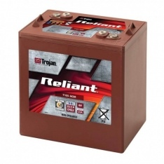 TROJAN AGM DEEP CYCLE BATTERY 6V 217AH TROJAN T-105-AGM FREE SHIPPING EXCEPT RURAL ADDRESSES